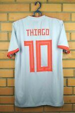 Thiago Spain Jersey 2019 Away S Shirt Adidas Soccer Football BR2697 Trikot