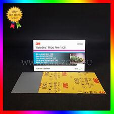 50x3M Feuille abrasive Wetordry P1500 (02048) Papier abrasif 138x230mm-50 pièces