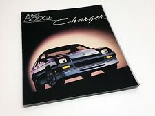 1985 Dodge Shelby Charger & 2.2 Brochure