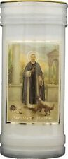 SAINT MARTIN DEVOTIONAL HOLY CANDLE - 100's OF STATUES AND PICTURES ALSO LISTED