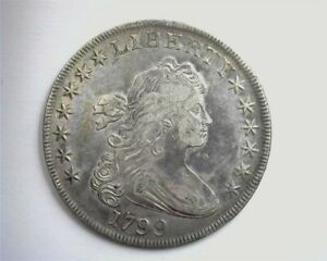 1799 DRAPED BUST SILVER DOLLAR CHOICE EXTREMELY FINE RARE THIS NICE!!