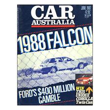 Car Australia 1987 June 06/87  Lancia Delta HF 4WD, Mazda 929, Falcon, Mazda 323