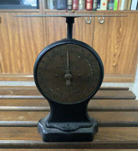 Antique Salter Cast Iron No. 11 Letter Balance Scale