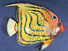 "Tropical Reef Fish Wall Plaque Nautical Art Home Decor 6"" RF6-7"