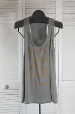 Women's Tops & Blouses - William Rast NWT Graphic Tank - Large Gray (style CAD)