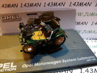 OPE108R voiture 1/43 IXO eagle moss OPEL collection : MOTORWAGEN system Lutzmann