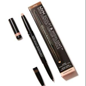 NYX Makeup Duo Sculpt & Highlight Brow Contour SHBC07 Ash Brown/Medium Beige