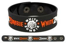 White Zombie wristband rubber bracelet