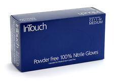 CASE of X-LARGE InTouch Q311  5mil Nitrile Gloves - Powder/Latex Free