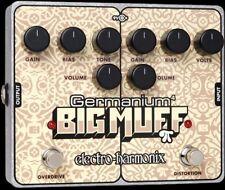 Electro Harmonix Germanium 4 Big Muff Distortion Guitar Effect Pedal