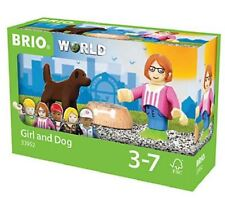 Girl Dog Figure Brio World Figures Lego Lady Puppy Bowl Dish Toy New