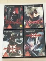 lot 4 Games Playstation 2 PS2 Devil May Cry 1 2 3&3 Special Ed set Japan Z82-85