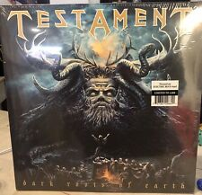 Testament Dark Roots of Earth - Limited Edition 2 LP Blue Color Vinyl 2012