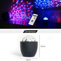 Mini Stage Magic Disco Ball Lamp Effect Rotating DJ Party Lazer LED Light PARTY