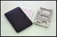 11 Function Credit Card Emergency Survival Tool NEW