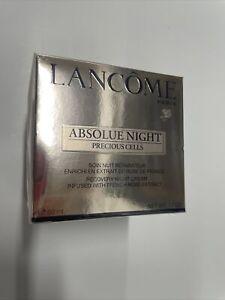 New Lancome Absolue Night Precious Cells Recovery Night Cream1.7 oz  Sealed, NIB