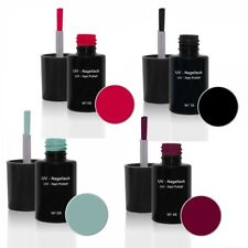 UV Nagellack Set N°4 - UV Gel Lack - Gellack - Hybridlack - UV Nagellack Set
