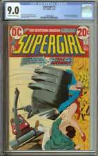 SUPERGIRL #1 CGC 9.0 OW/WH PAGES