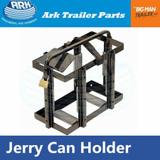 Ark Jerry Can Holder Metal Security Pad-Lock Top-Load 20 Litre Anti-Siphon