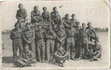 WW2 soldier group British Cavalry Armoured regiment 8th Hussars