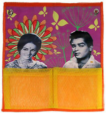 Kitschy Indian Couple Hanging Shower Accessory Make-up Pouch BOLLYWOOD Hindi
