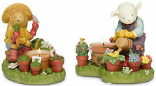 Partylite - Sunny Days Planting & Gardening Tealight Holders Set of 2