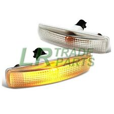 LAND ROVER FREELANDER 2 CLEAR SIDE REPEATER INDICATOR LIGHTS & BULBS INCLUDED