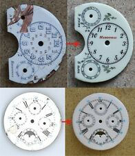 Full restoration of enameled dials for watches.