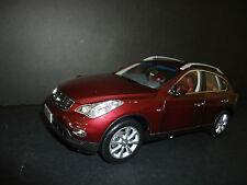 Paudi INFINITI EX25 2012 BORDEAUX ROSSO 1/18 di qualità modello