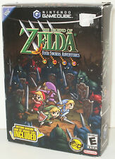 LEGEND OF ZELDA : FOUR SWORDS ADVENTURES BUNDLE (2004) NINTENDO GAMECUBE *NEW*