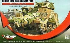 GRANT Mk I 'EL ALAMEIN' + PE PARTS (BRITISH MARKINGS) #728004 1/72 MIRAGE RARE!