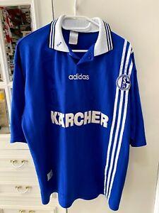 maglia Trikot Schalke 1996 1997 no match worn Jersey Shalke 04 camiseta vintage