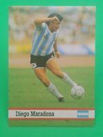 1993 Fax Pax Diego Maradona #21 Argentina Soccer Card