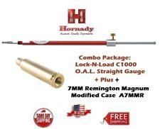 Hornady Lock-N-Load STRAIGHT OAL Gauge C1000 + 7MM REM. MAG. Modified Case A7MMR