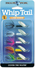 Blue Fox Whip Tail 5-Piece Variety Kit - Trout & Salmon Fishing Spinner Lure