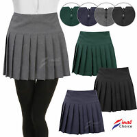 New Girls Kids Childrens Pleated School Skirts A Lot OF Uniform Skirt - BNWT
