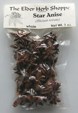 Star Anise 1 oz - Food Grade- The Elder Herb Shoppe