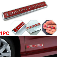 3D Metal Limited Edition Car Sticker Badge Decal Motorcycle Emblem 6.5*1*0.5cm
