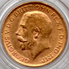 1927 FULL Gold  Sovereign King George V UNCIRCULATED Minted in South Africa