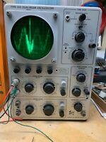 Tektronix Type 502 Dual - Beam Oscilloscope (Working)