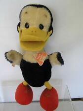 Rare! Original Schuco Bigo Bello Mohair Blue Comical Standing Flat Foot Duck Id