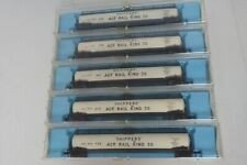 Lot Of 5 Different 2346 Atlas N Scale Shippers ACF Rail King 30 Jumbo Tank Cars