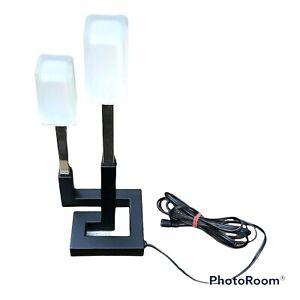 VINTAGE IKEA Korsby Geometric Table Plug Needs Conv For USA?