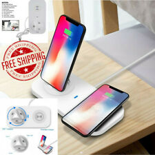 Original Apple iPhone Wireless Charging Pro Station Dock 3 In1 Qi Fast Charger