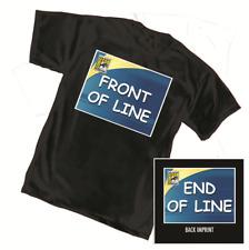 San Diego Comic Con SDCC @HOME 2020 Front / End of Line Shirt MEN'S MEDIUM (M)