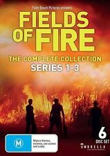 Fields Of Fire : Series 1-3 (DVD, 2015, 6-Disc Set)