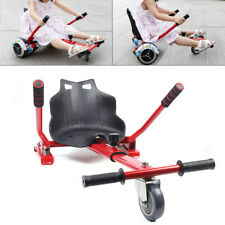Two Wheels Adjustable Kart Seat Holder Frame For Balancing Electric Scooter Red
