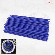 Universal Spoke Wrap Cover Enduro Wheel Rim Wheel Covers Trim Wraps Blue 17cm