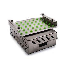 Dental Implant Bur Drill Tray Case Sterilization Organizer Cassette Kit Box Stel