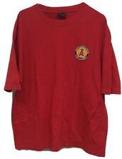 Los Angeles Angels MLB 2004 Arizona Cactus League Logo Red Shirt Size 2XL